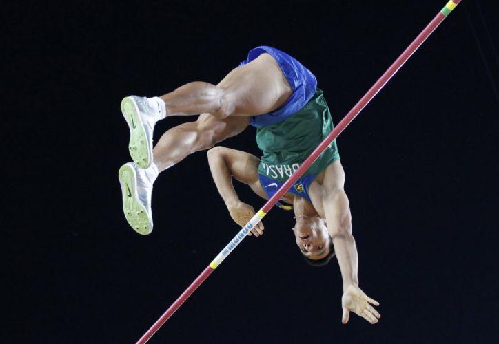 O brasileiro Fábio Gomes também terminou o Mundial de Daegu sem medalhas