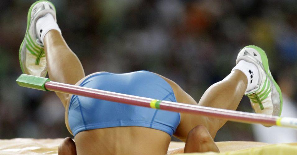 Blanka Vlasic erra no último salto e perde a medalha de ouro no salto em altura