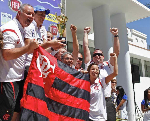 Flamengo terminou o José Finkel na terceira colocação, atrás apenas do Minas e do Pinheiros e levando vantagem na disputa com o Corinthians