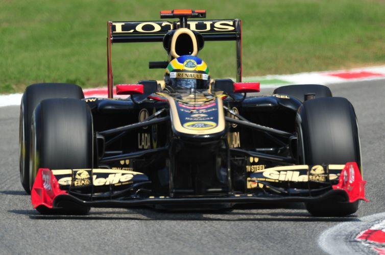 Bruno Senna conseguiu se classificar para o Q3, mas preferiu não entrar na pista e economizar pneus. Brasileiro largará em décimo no GP da Itália