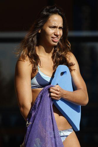 Ana Carolina é outra brasileira da natação