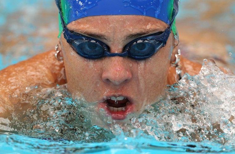Larissa Cieslak é outro nome da delegação brasileira de natação do Pan