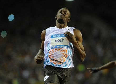 Usain Bolt, recordista olmpico dos 100m livre, esteve em agosto no Mundial de Daegu e agora est focado em Londres-2012