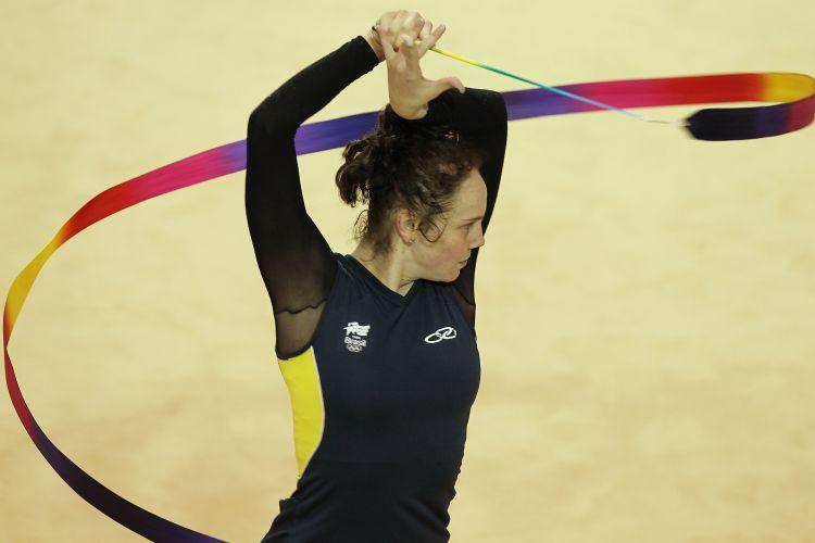 Atleta do Brasil treina na véspera da estreia nos Jogos Pan-Americanos
