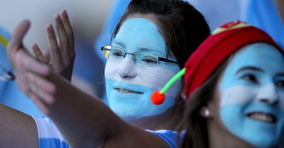 Torcida marcou presença no estádio para incentivar as Leonas