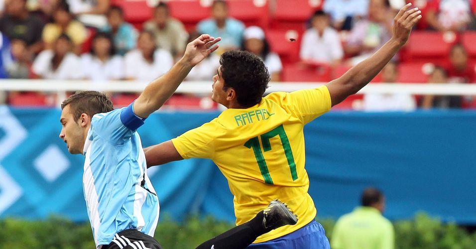 O Brasil faz sua estreia no futebol masculino no Pan de Guadalajara contra a rival Argentina