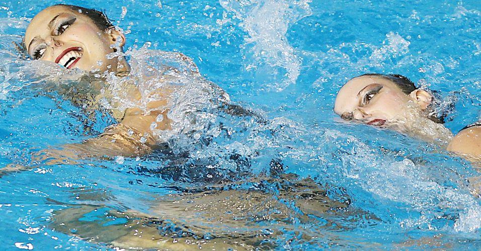 Lara Teixeira e Nayara Figueira encerram sua particpação no Pan de Guadalajara com a medalha de bronze