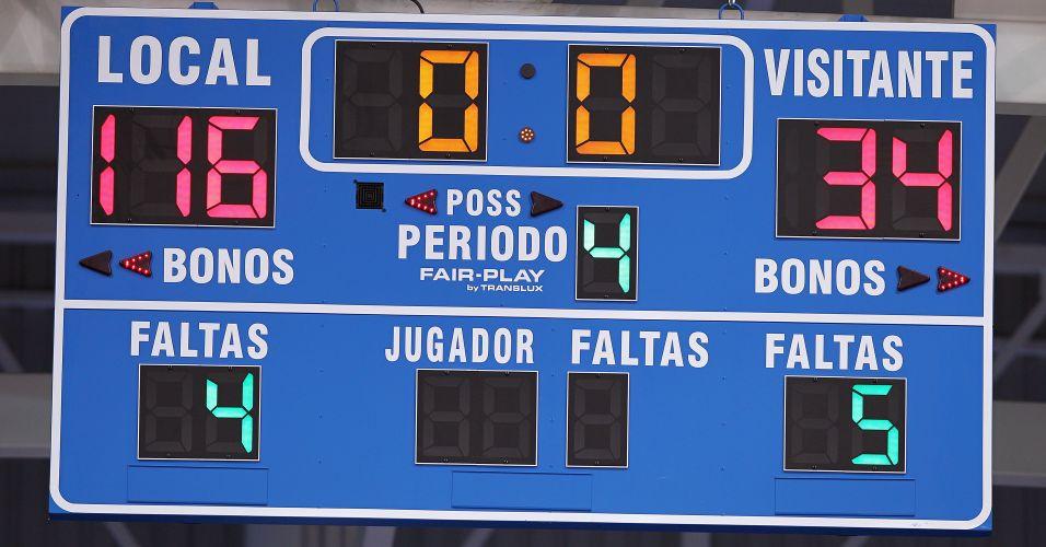 Placar aponta vitória brasileira no final por 116 a 34 contra a Jamaica pela segunda rodada do Pan