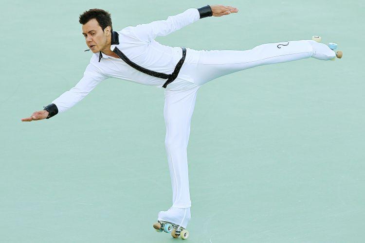 Brasileiro Marcel Stürmer terminou o dia de abertura das disputas na patinação artística em primeiro lugar