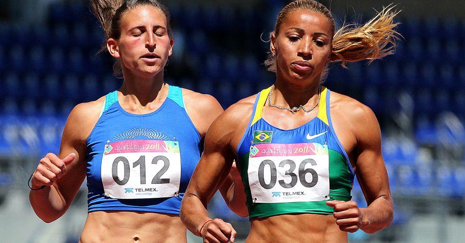 Lucimara Silvestre vence sua série dos 100 m com barreiras do heptatlo