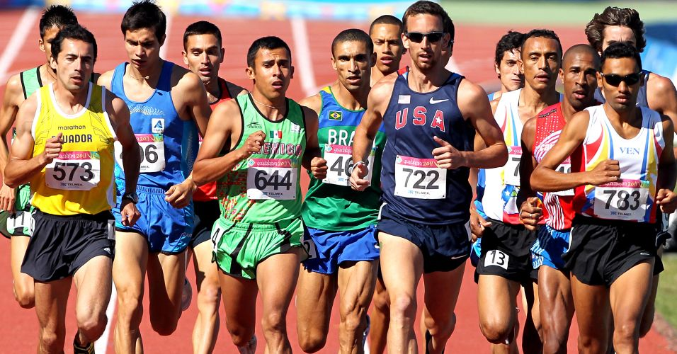 Leandro Prates levou o ouro nos 1.500 m com o tempo de 3min53s43