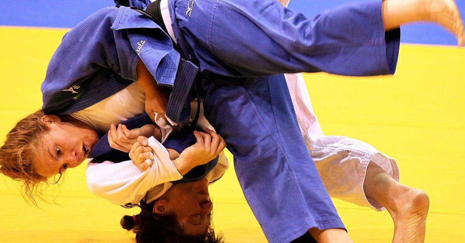 Maria Portela ataca rival norte-americana na briga pelo bronze do Pan
