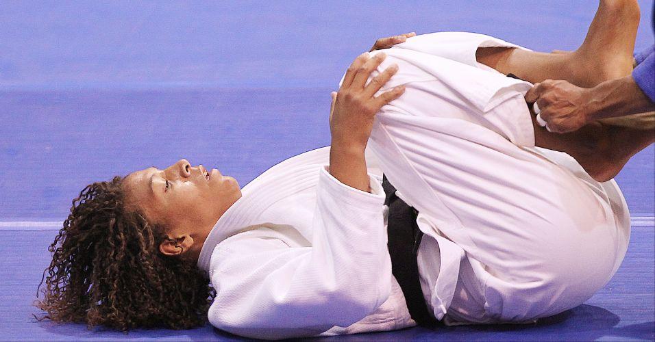 Rafaela Silva ficou com a medalha de prata ao ser derrotada na final pela cubana Yurisleidys Lupetey, na categoria até 57kg