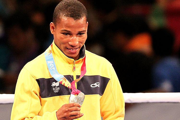 Robson Conceição, que ficou famoso no Pan pelo pedido de casamento em rede nacional, acabou com a prata no Pan-2011
