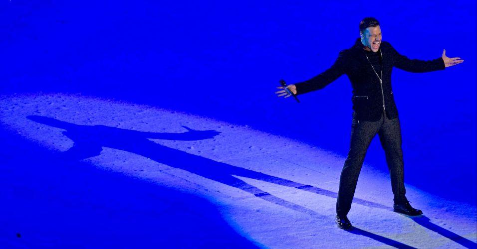 O show que mais animou o público na festa de encerramento do Pan-2011 foi o de Ricky Martin