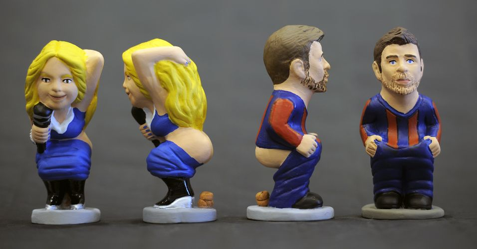 Assumidamente juntos desde 2010, Shakira e Piqué viraram o principal casal da bola na atualidade, e os criadores dos