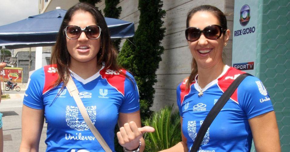 As grandes estrelas do lançamento foram Natália (e) e Fernanda Venturini. A ponteira por ter trocado o Sollys/Osasco pela rival Unilever, e a levantadora por voltar após uma aposentadoria de quase quatro anos