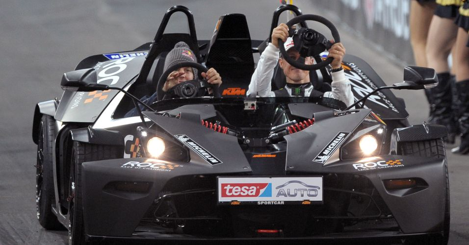 Vettel e Schumacher participaram da Corrida dos Campeões, organizada na Alemanha