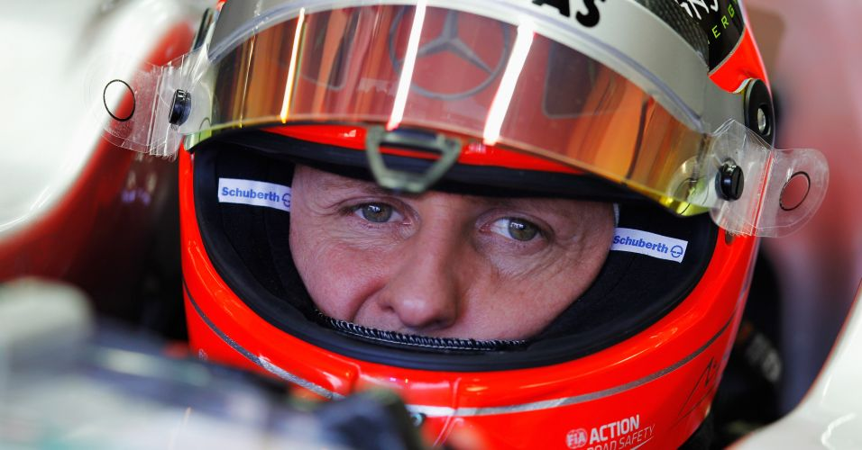 Schumacher liderou a primeira parte do treino da F-1 em Jerez de la Frontera nesta quarta-feira