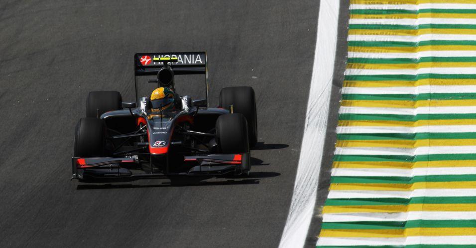 Bruno Senna estreou na Fórmula 1 em 2010 pela Hispania