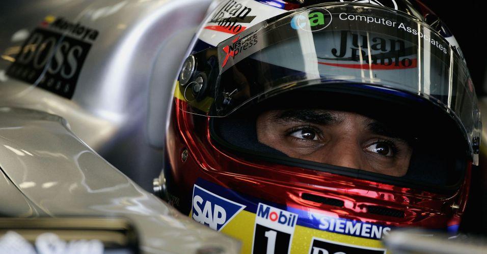 Em 2005, Juan Pablo Montoya usou as cores da bandeira da Colômbia em seu capacete
