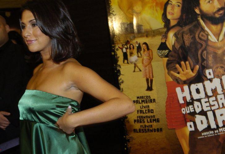 Fernanda Paes Leme durante pré-estreia do filme