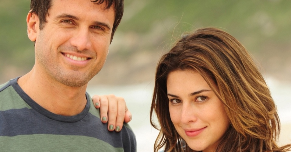 Eriberto Leão e Fernanda Paes Leme em cena da novela