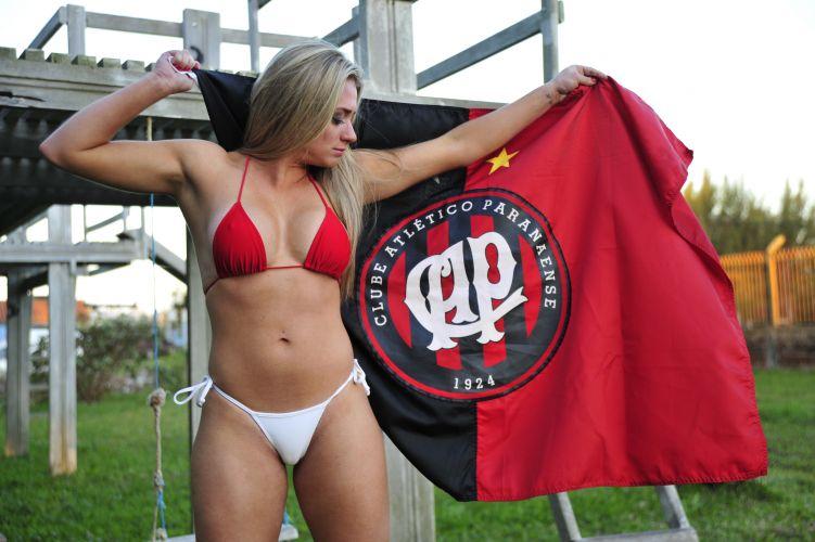 Katiuska Glesse, gata do Atlético-PR