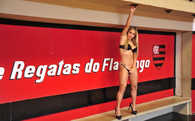 Cris Lopes, gata do Flamengo