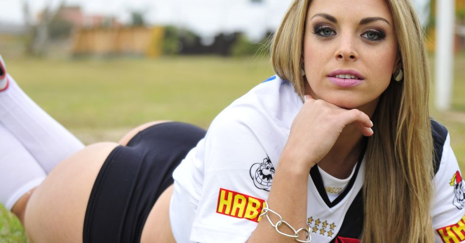 Jéssica Lopes é a gata do Vasco