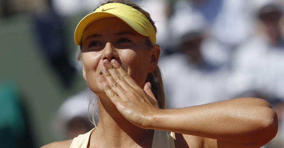 Maria Sharapova finalmente voltou a conquistar um bom resultado em Grand Slam. Depois de três anos jogando de forma inconstante, ela voltou a se colocar em uma semifinal