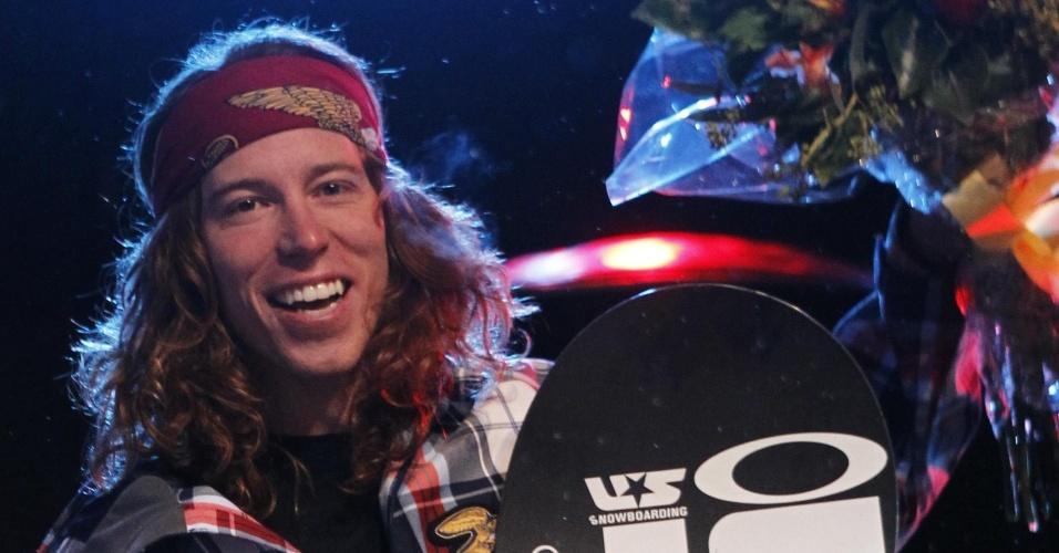 Norte-americano Shaun White, do snowboard, já ganhou o