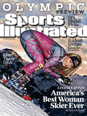 Capa da revista Sports Illustrated com Lindsey Vonn