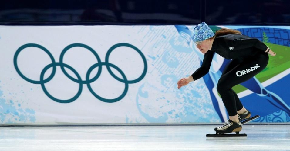 Clara Hughes, canadense da patinação de velocidade