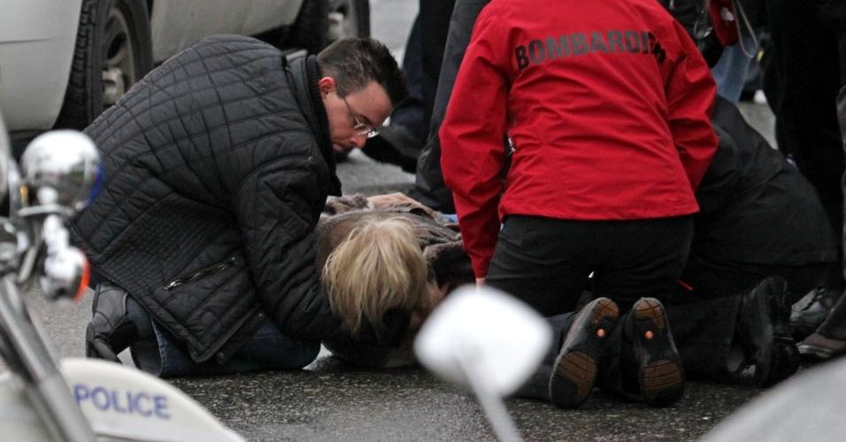 Idosa de 76 anos foi atropelada durante revezamento da tocha dos Jogos de Inverno