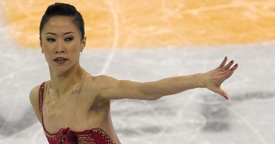 Xue Shen e Hongbo Zhao, da China, lideraram a dobradinha da China na patinação artística