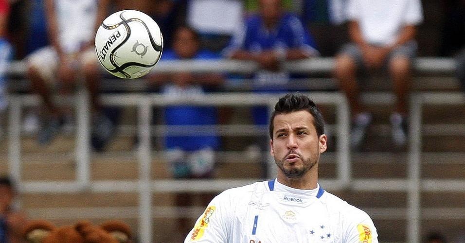 Goleiro Fábio ressalta a qualidade do grupo do Cruzeiro