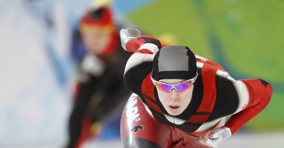 A patinadora Christine Nesbitt deu o 3º ouro ao Canadá nos Jogos de Inverno