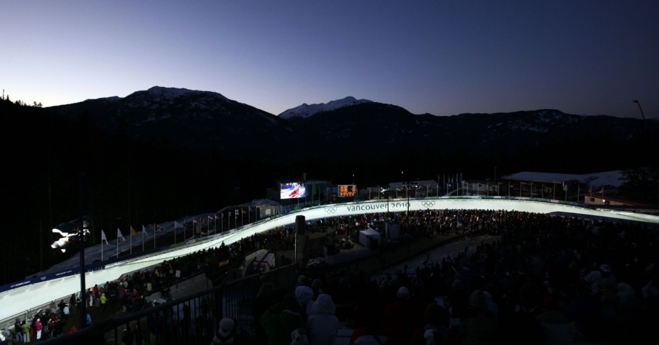 Whistler Sliding Center, palco das provas de luge, skeleton e bobsled