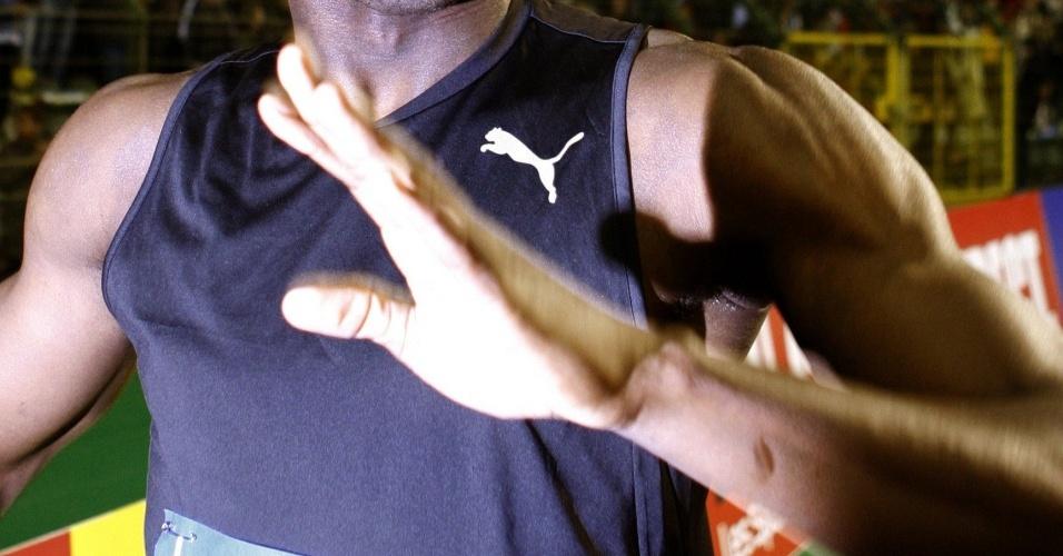 Usain Bolt vence sua primeira prova na temporada 2010