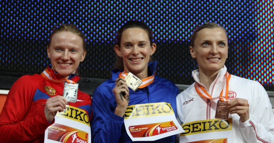 Fabiana Murer conseguiu o primeiro ouro feminino em Mundiais Indoor