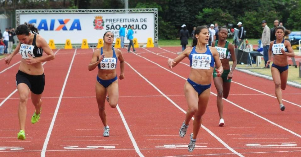 Ana Cláudia Lemos Silva venceu os 200 m rasos e conquistou seu 3º ouro no Troféu Brasil