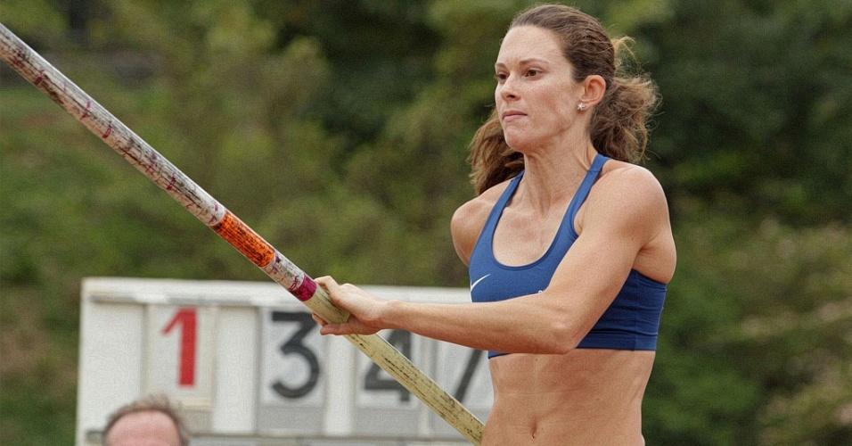 Fabiana Murer confirmou o favoritismo e conquistou o ouro no Troféu Brasil