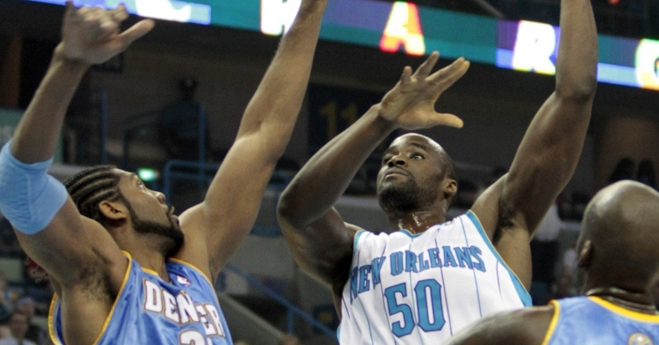 Nenê brilha na vitória do Denver Nuggets sobre o New Orleans Hornets