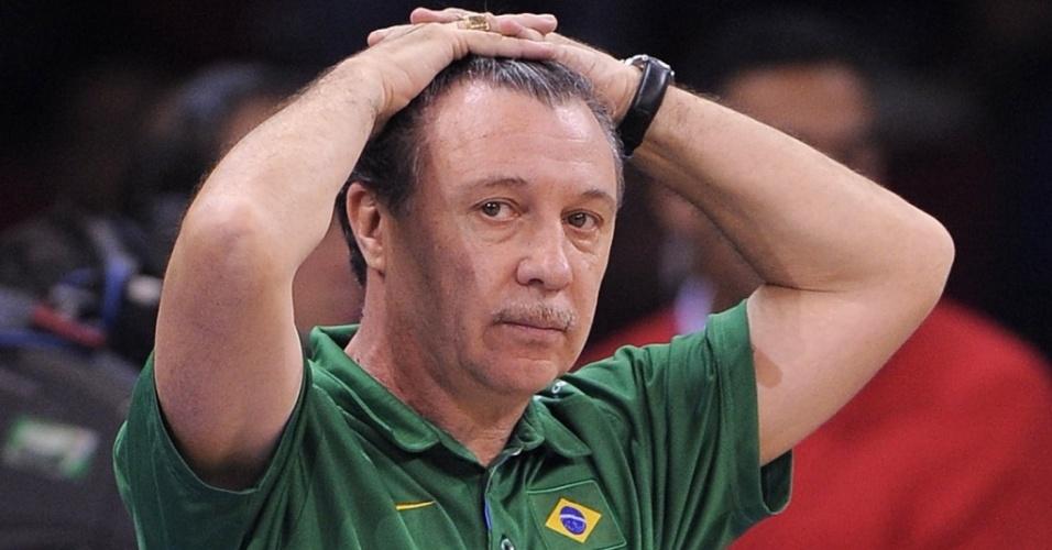 Rubén Magnano lamenta derrota do Brasil para a Eslovênia