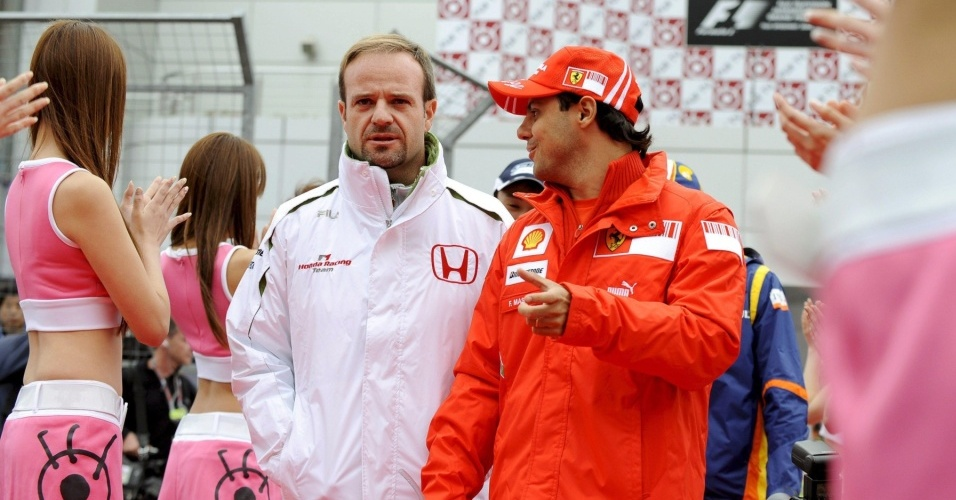 Barrichello e Massa