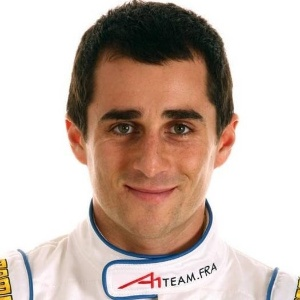 Nicolas Prost, filho de Alain Prost, em foto oficial da A1Team France, da A1GP
