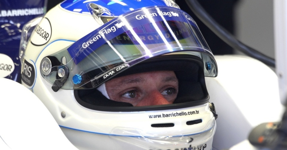 Rubens Barrichello, piloto da Williams
