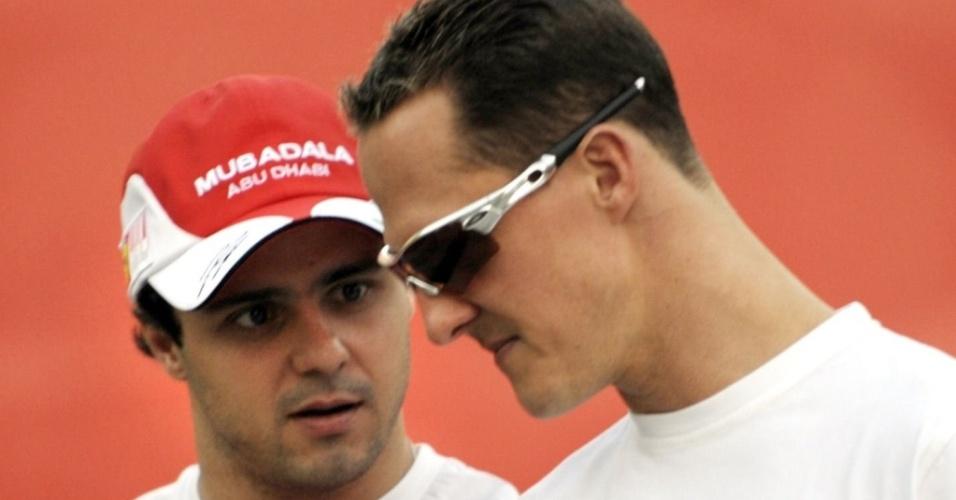 Felipe Massa ajudou a convencer Michael Schumacher de voltar à GPDA