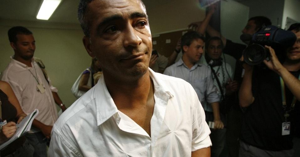 Romário é julgado pelo STJD após ser pego no exame antidoping